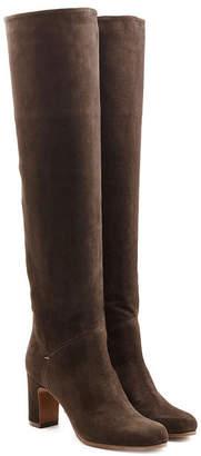 L'Autre Chose Suede Knee Boots