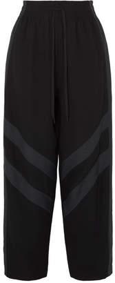 See by Chloe Striped Crepe Pants - Black