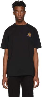Marcelo Burlon County of Milan Black NBA Edition Lakers Mesh T-Shirt