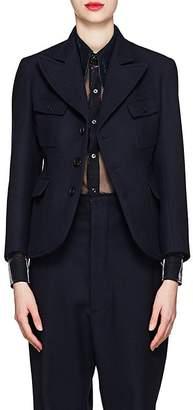 Maison Margiela Women's Wool Three-Button Blazer