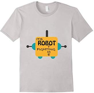It's Robot Fighting Time T-Shirt