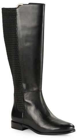 Cole Haan  Cole Haan Rockland Leather Knee-High Boots