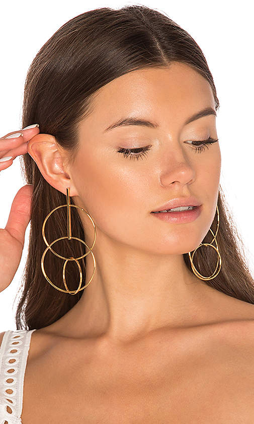 joolz by Martha Calvo Multi Hoop Earrings