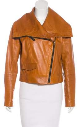 Cynthia Steffe Leather Moto Jacket