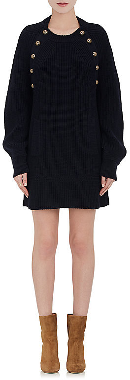 Chloé CHLOÉ WOMEN'S WOOL SWEATERDRESS