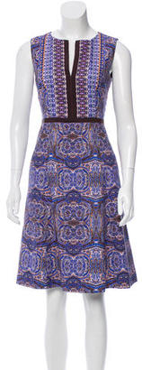 Nanette Lepore Printed Knee-Length Dress w/ Tags $175 thestylecure.com
