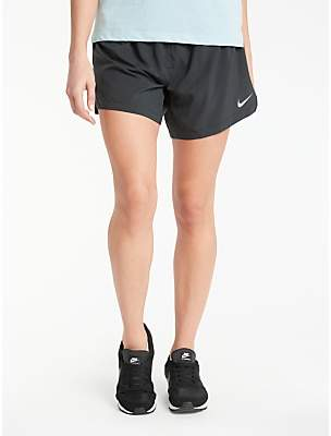 Nike Elevate Running Shorts, Black
