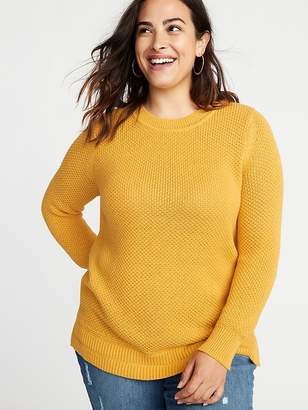 Old Navy Plus-Size Open-Stitch Sweater
