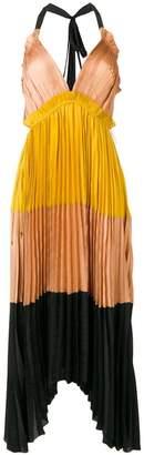 Ulla Johnson micro-pleated dress