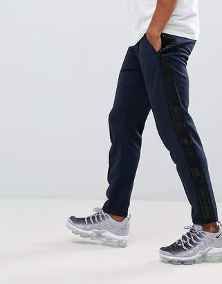 Armani Exchange taped jogger in navy