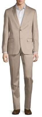 Ben Sherman Two-Piece Cotton-Blend Suit