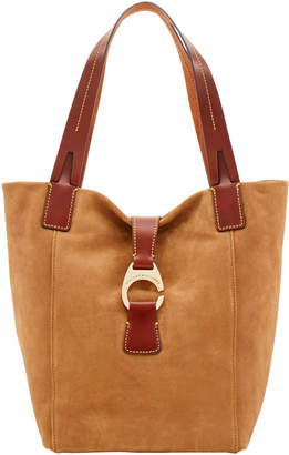 Dooney & Bourke Derby Suede North South Shopper