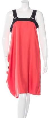 Bottega Veneta Sleeveless Asymmetrical Dress