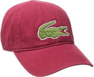 Lacoste Men's Classic Large Croc Gabardine Cap
