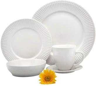 Melange Italian Classic Premium 16 Piece Dinnerware Set, Service for 4