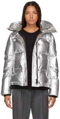 Kenzo Silver Down Puffer Jacket