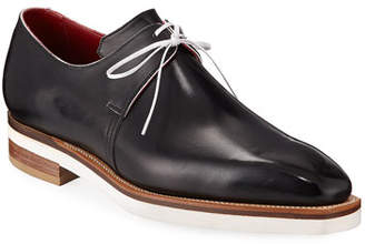 Arca Corthay Contrast-Sole Derby Shoe