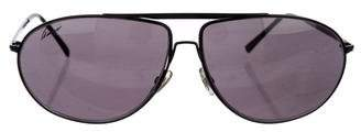 Gucci Tinted Aviator Sunglasses
