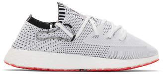 Y-3 Y 3 White Raito Racer Sneakers