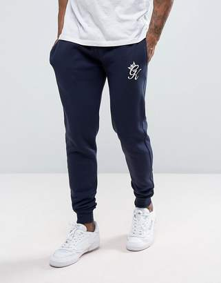 Gym King Skinny Fit Joggers In Navy