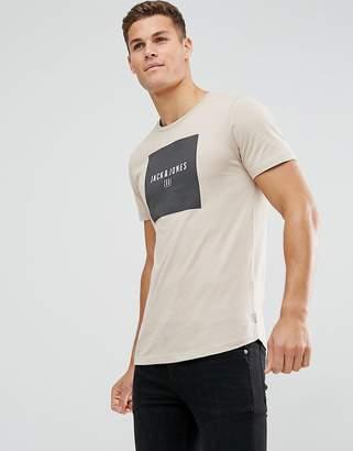 Jack and Jones Slim Logo T-Shirt