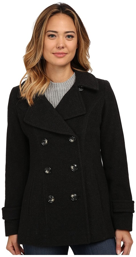 Anne KleinAnne Klein Double Breasted Peacoat