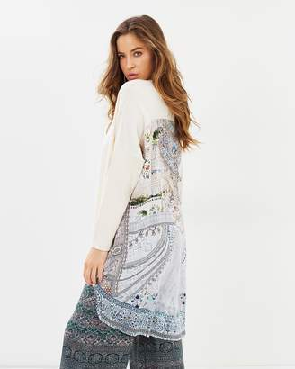 Camilla Long Sleeve Jumper with Printed Back