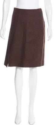 Altuzarra Wool A-Line Skirt