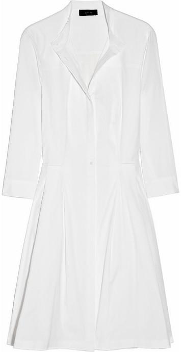 Joseph Deauville stretch-cotton shirt dress