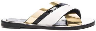 Lanvin Boucle Sandals $570 thestylecure.com