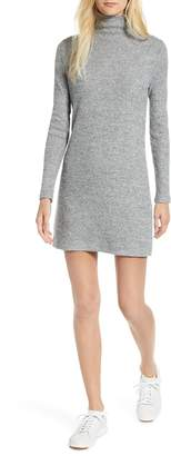 Lou & Grey Soft Rib Turtleneck Dress