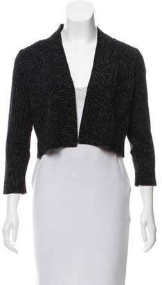 Alexander Wang Printed Open Front Cardigan