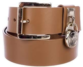 MICHAEL Michael Kors Leather Hip Belt