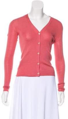 Prada Cashmere & Silk Knit Cardigan