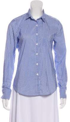 Boy By Band Of Outsiders Striped Long Sleeve Top
