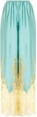 Rosamosario Silk Pyjama Bottoms
