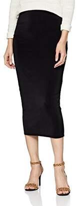 New Look Women's's 5824249 Skirt, (Black 1), 8 (Size:8)