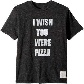 Original Retro Brand The Kids Wish You Were Pizza Short Sleeve Tri-Blend Tee Boy's Clothing
