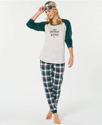 Jenni Knit 3 Piece Pajama Set