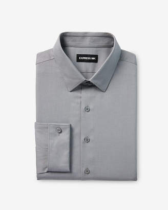 Express Classic Fit Twill French Cuff 1Mx Shirt