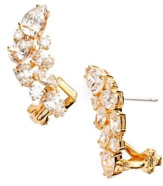Women's Nadri Ava Crystal Ear Crawlers $80 thestylecure.com