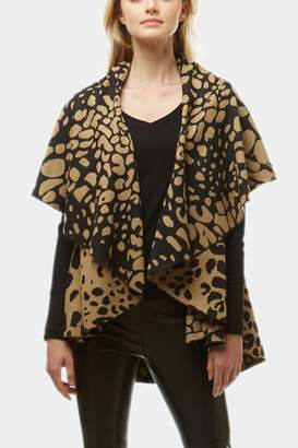 Embellish Animal Print Vest