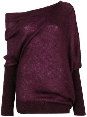 Tom Ford one shoulder slouchy sweater