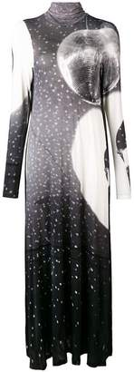 MM6 MAISON MARGIELA printed maxi dress