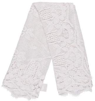 Miguelina Embroidered Lace Shawl