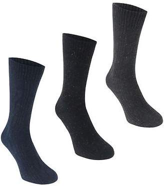Soul Cal SoulCal Mens Cal Nepp Scks S74 Crew Socks