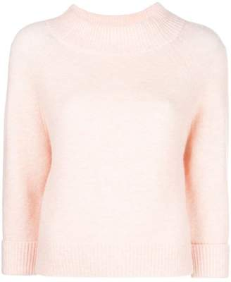 3.1 Phillip Lim wide collar knit sweater