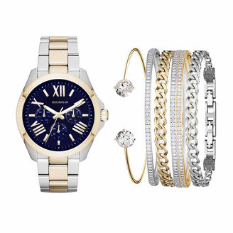 ROCAWEAR Rocawear Womens Blue 6-pc. Watch Boxed Set-Rlst1958s329-298 $45 thestylecure.com