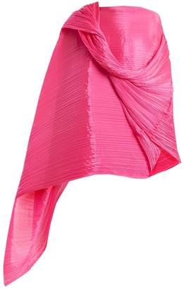 PLEATS PLEASE ISSEY MIYAKE Madame T pleated scarf