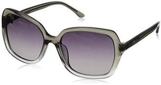 Hang Ten Gold Women's Fashion Forward HTG1015 C1 Polarized Round Sunglasses